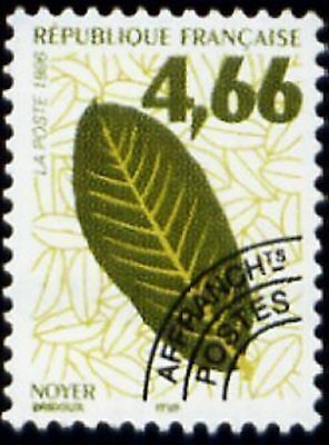 """FRANCE PREOBLITERE TIMBRE STAMP N° 238 """" FEUILLE DE NOYER """" NEUF xx LUXE"""