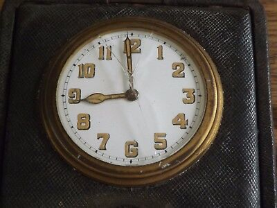 Interesting Antique Travel Time Piece