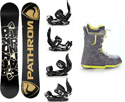 Snowboard Pathron Scratch Carbon + Raven Bindungen + Boots Raven Team - Neu!