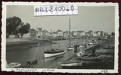 Le Pouliguen  . le Port  . Photo ancienne . 1936