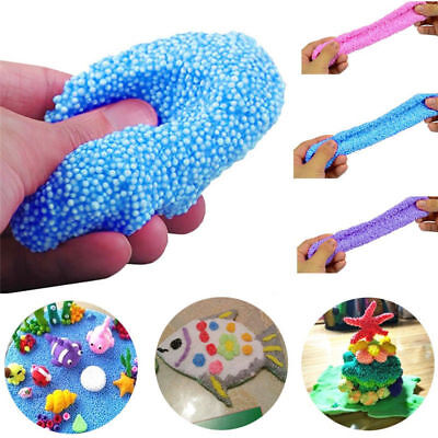 Creative 20g Snow Mud Fluffy Floam Slime Putty Stress Relief No Borax Xmas Gifts