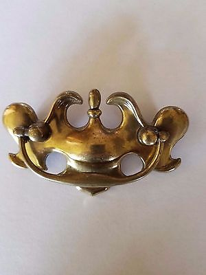 Dresser Drawer Handle Pull Furniture Hardware Knobs Vintage Gold Antique