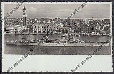 Incrociatore Trieste 02 Nave Regia Marina Da Guerra Warship - Venezia Real Photo