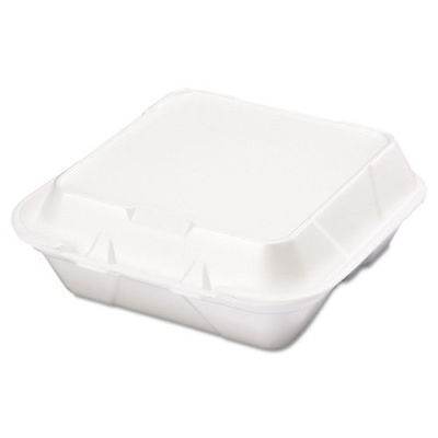 Genpak Snap It Foam Container, 8 1/4 X 8 X 3, White, 100/bag, 2 Bags/carton  SN2