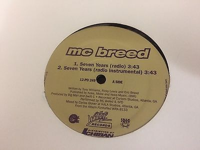 "Mc Breed What You Want  Ichiban Nm 12"" W"