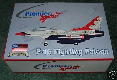 Exxon Premier Spirit F-16 Fighting Falcon Plane Mib