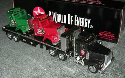 Texaco Tmt Flatbed W Truck Load Sky Chief & Fire Chief Sale