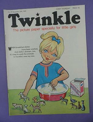 Twinkle Comic, Picture Paper For Little Girls #97, November 29th 1969