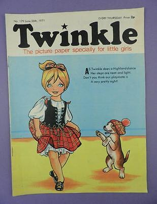 Twinkle Comic, Picture Paper For Little Girls #179 June 26th 1971