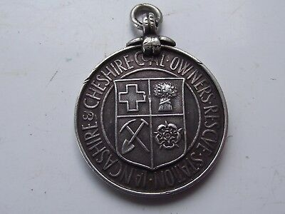 Antique Medal Lancashire & Cheshire Coal Owners Rescue Station Thomas Ralph