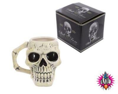 Ancient Skull 3D Halloween Coffee Mug Cup New In Gift Box