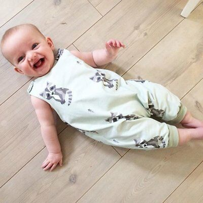 Toddler Newborn Kids Baby Boys Girls Romper Bodysuit Jumpsuit Clothes Outfits