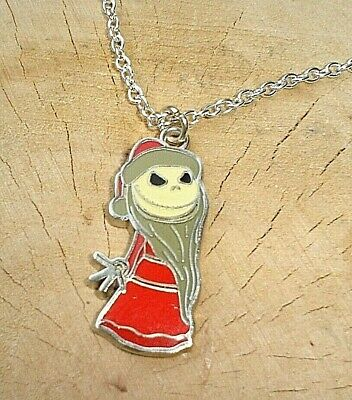 Jack Nightmare Before Christmas Charm Necklace Bad Santa Claus In Gift Bag