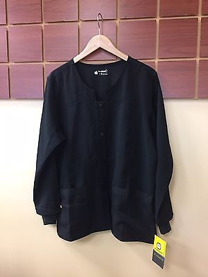 NEW Lot Of 5 Wink Four Stretch Large Solid Scrubs Jackets NWT