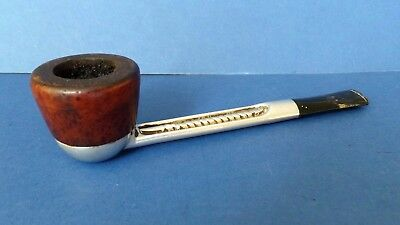 Vintage Smoking Pipe For Restoration Falcon 1 Pipe Made in England 15cms long
