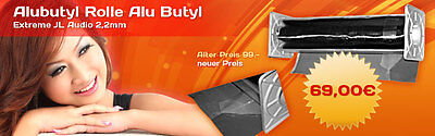 alubutyl 5m Roll Aluminum Butyl by Manufacturer Branded 0 3/32in Strength