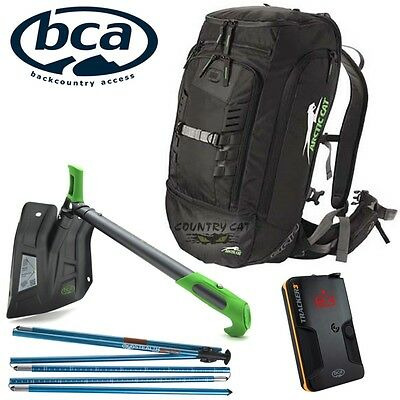 Arctic Cat Backcountry Pro Kit Backpack Tracker3 Beacon Shovel Probe - 6639-772