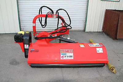 "55"" Ditch Bank Flail Mower Cat.II 3pt 35~75hp PTO(FH-AGF140) w/Hammer Blades"