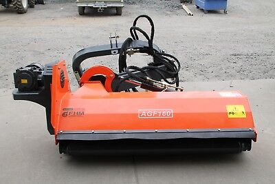 "Farmer Helper 63"" Ditch Bank Flail Mower Cat.II 3pt 40hp~80hp PTO (FH-AGF160)"
