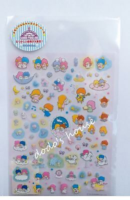 Sanrio Japan Puroland x Little Twin Stars Plastic Sticker
