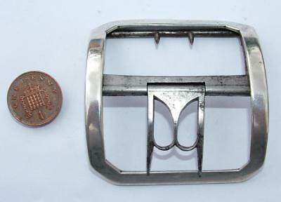 Large Geo Iii Antique 1798 Sterling Silver Shoe Buckle Thomas Northcote Lot 119