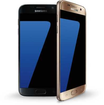 Samsung Galaxy S7 *FACTORY UNLOCKED* 32GB G930T AT&T T-Mobile 4G LTE BLACK GOLD