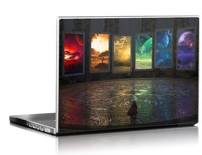 "15.4"" 15.6"" LAPTOP SKIN STICKER COVER VINYL DECAL PROTECTION Portals"