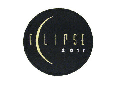 "2017 Total Solar Eclipse Totality Sun Moon Space Nasa Commemorative 3"" Patch"