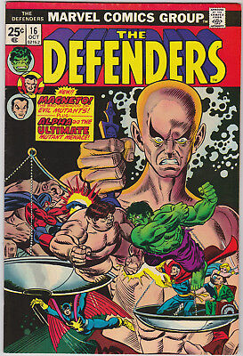 The Defenders     # 16    1974       VF/NM