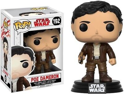 FUNKO POP! STAR WARS: The Last Jedi - Poe Dameron [New Toy] Vinyl Figure