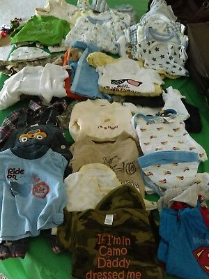 Huge 3-6 Month Baby Boy Clothes Lot Over 30 Pieces