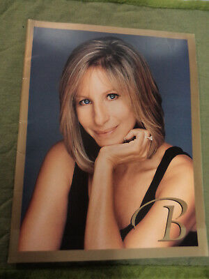 #t105.   Music Tour Program - Barbra Streisand  1999-2000