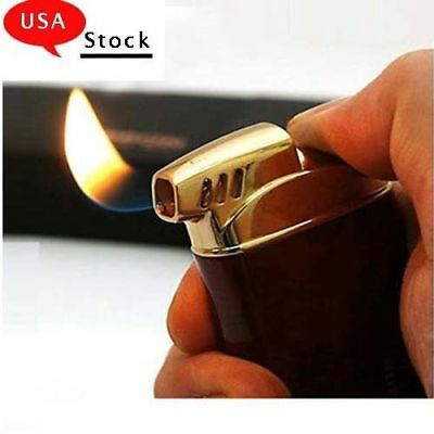 Jobon Metal Smoking Pipe Lighter Normal Flame Cigarette Cigar Butane Gas