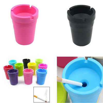 Jumbo Butt Bucket Ashtray Cigarette Extinguishing Car Cup Ash Holder Portable