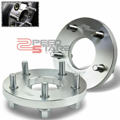 """4pc 5x100mm to 5x114.3mm Wheel Spacers Adapters 1/"""" for Lexus CT200h ES250 nh"""