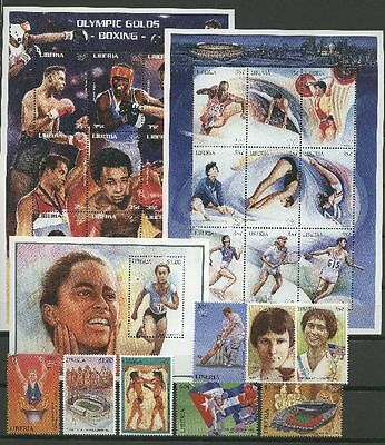 Olympiade 1996, Olympic Games, Sport - Liberia - 1732-1757, Bl.151 ** MNH