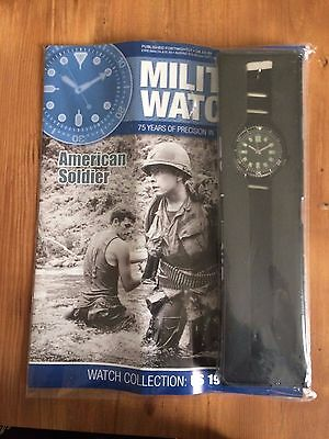 Eaglemoss Military Watch Collection * AMERICAN SOLDIER ISSUE 87 * New With Mag