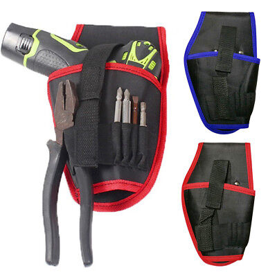 Durable Heavy-Duty Cordless Handed Drill Holster Tool Belt Pouch Holder Carryiny