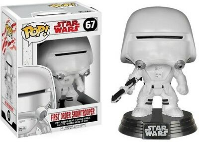 The Last Jedi - First Order Snowtrooper - Funko Pop! Star Wars: (2017, Toy NEUF)