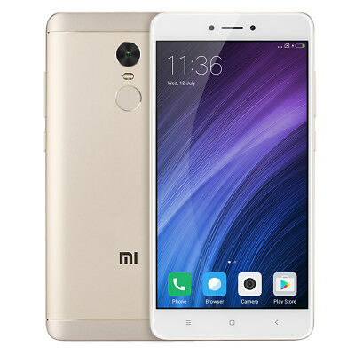 Global 5.5''Xiaomi Redmi Note 4X 4G DecaCore 4+64GB MIUI8 13MP 4100mA Smartphone