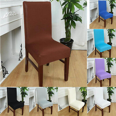 Seat Covers Kitchen Dining Bar Chair Covers Slipcovers Wedding Party Decor