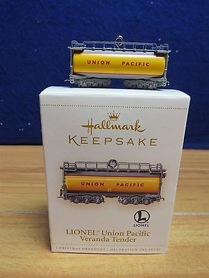 Hallmark Keepsake Union Pacific Veranda Tender Ornament  550245