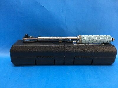 """Armstrong Bros Tool 1/4"""" Drive Torque Wrench 64-032 Ratchet Head Steel"""