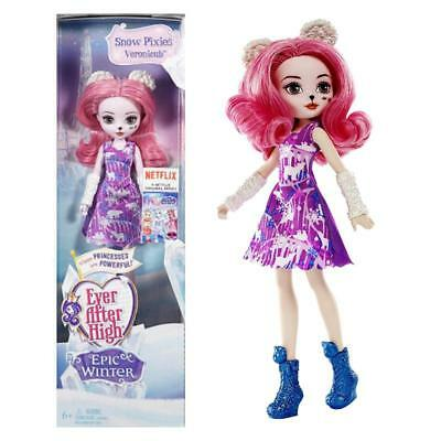 Ever After High Veronicub Epic Winter Snow Pixies Fashion Doll Toy