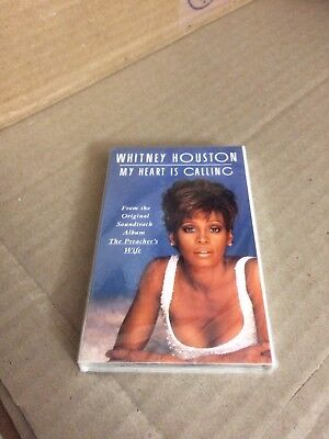 Whitney Houston My Heart Is Calling Factory Sealed Cassette Single Dfs