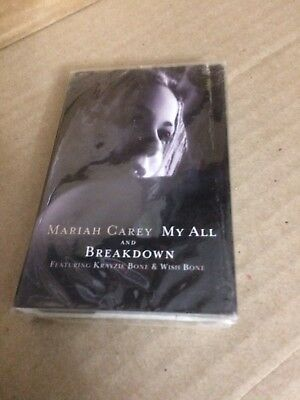 Mariah Carey My All ~ Breakdown  Factory Sealed Cassette Single Dfs
