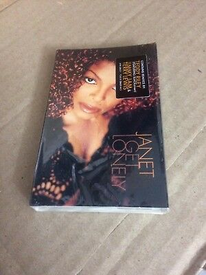 Janet I Get  Lonley Factory Sealed Cassette Single Dfs