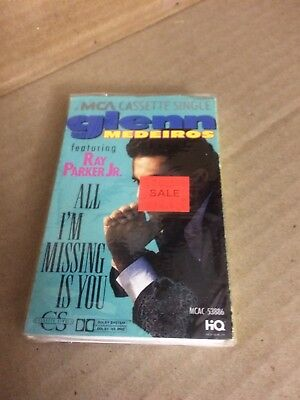 Glenn Medeiros All I'm Missing Is You Factory Sealed Cassette Single Dfs