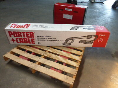 NEW Porter Cable 7800 Drywall Variable Speed Sander with 13 foot Vacuum Hose