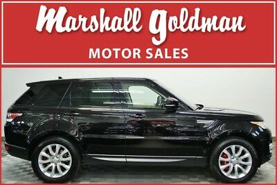 2015 Land Rover Range Rover Sport Supercharged Sport Utility 4-Door 2015 Range Rover Spt Supercharged Barolo Black over Ivory & Ebony only 29,500 mi